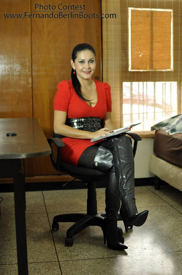 Platform leather thigh boots designer andrea cancelieri - 1 part 3