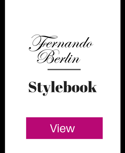 Fernando Berlin Stylebook