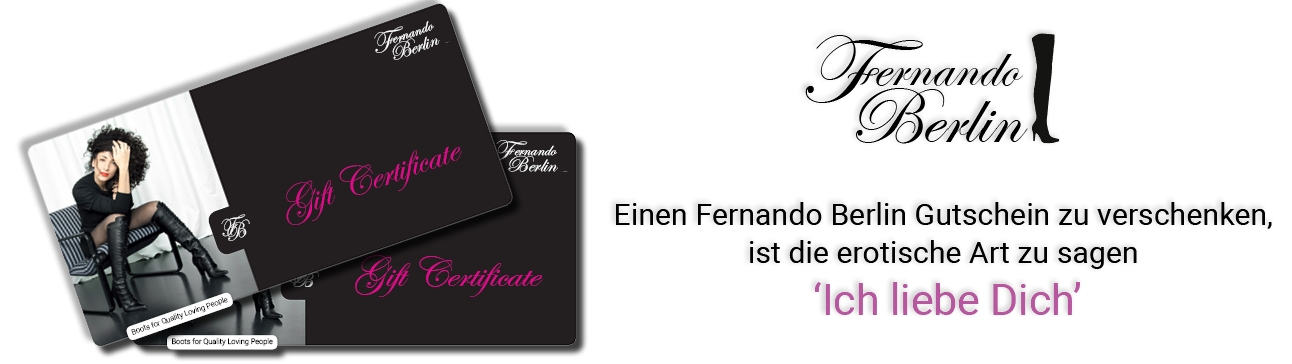 Fernando Berlin Geschenkgutschein