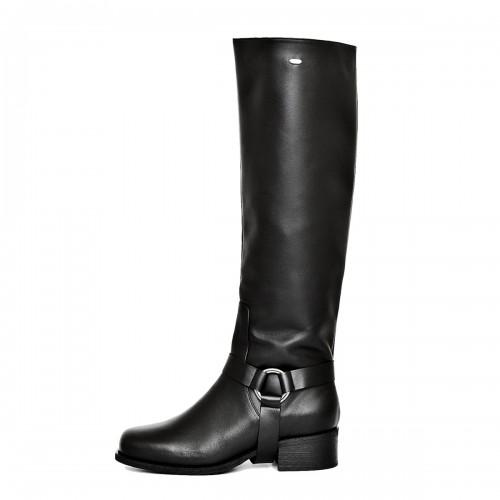 Biker boots knee high standard size (Model 305)