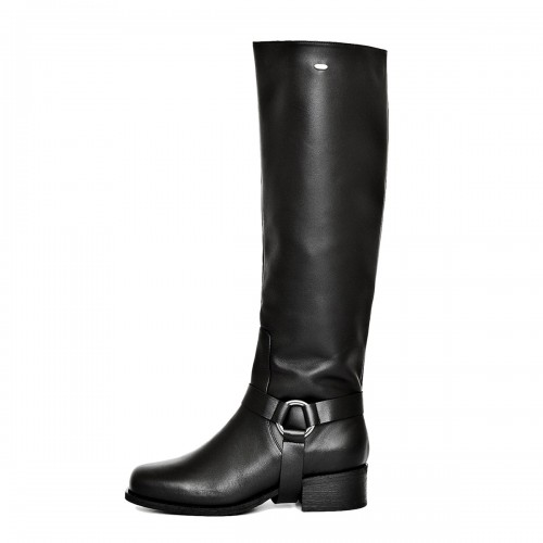 Biker boots knee high made-to-measure (Model 305)