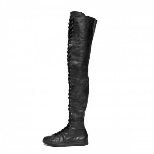 Sneakers thigh high with lacing standard size (Model 500)