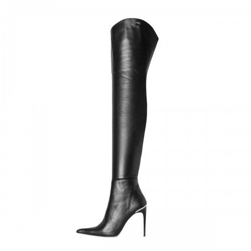 Crotch high boots extra pointed made-to-measure (Model 560)