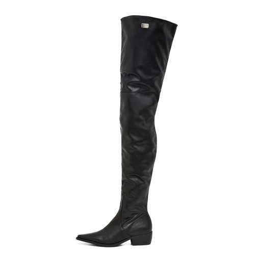 Flat crotch high boots standard size (Model 115)
