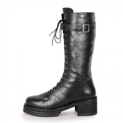 Botas altas de ternera estilo gótico/Combat tamaño estándar (Modelo 370)
