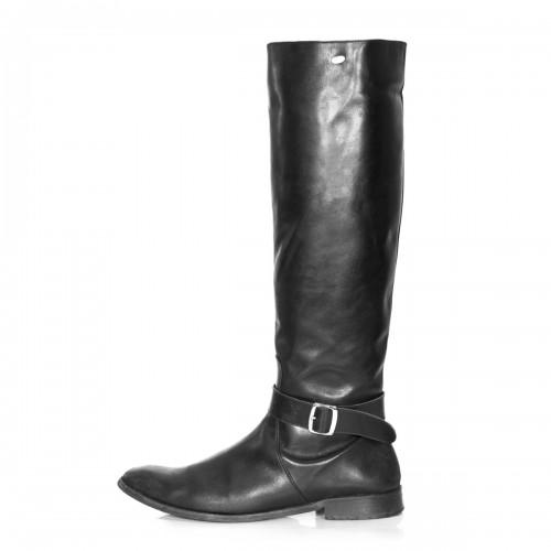 Bottes pour hommes au genou avec boucle pointure standarde (Modèle 400)