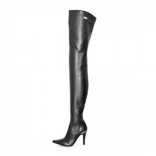 Super lange High Heel Overknee Stiefel Standardgröße (Modell 106)