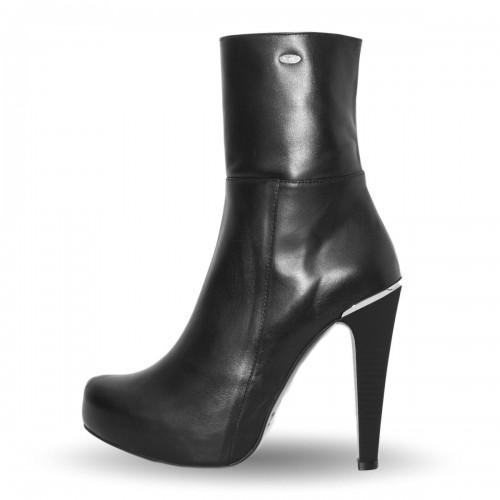 Stiefelette Bootie High Heel mit Plateau Standardgröße (Modell 806)