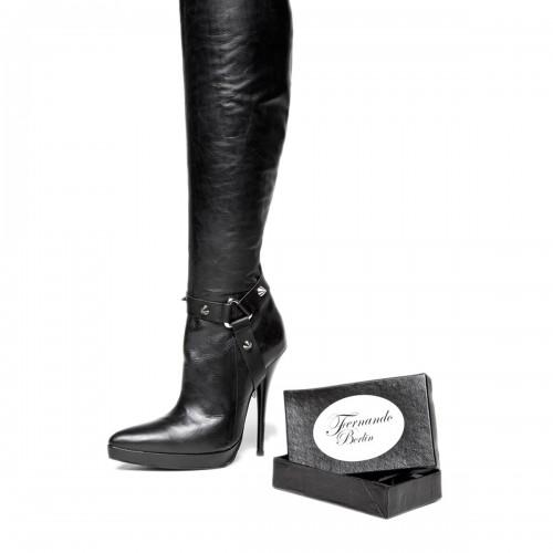 Stiefelband mit Nieten im Sporen-Stil Standardgröße