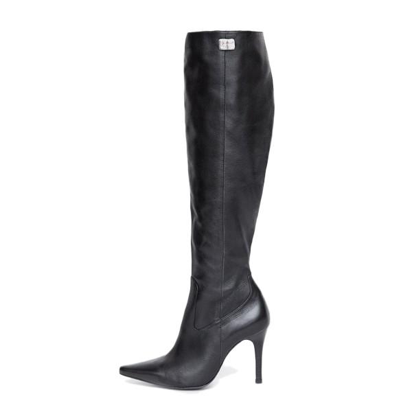 Kniehoher Stiefel mit High Heel auf Maß (Modell 301)
