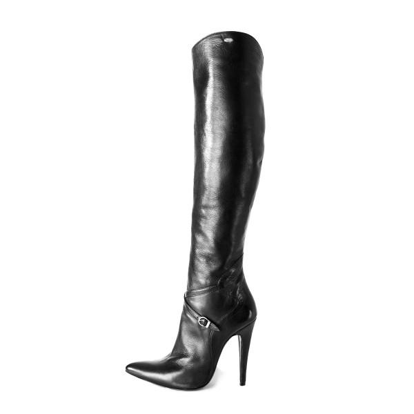 Kniehoher High Heel Stiefel im Reiterstiefelstil auf Maß (Modell 304)