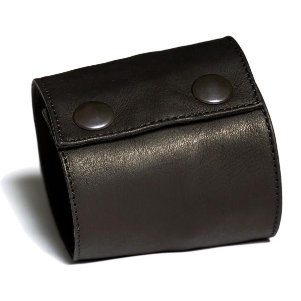 Kurzes Manschetten Portemonnaie aus Leder