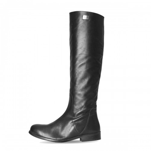 Leather boots men knee high made-to-measure (Model 309)