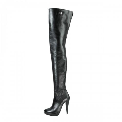 Super long high heel boots crotch high platform made-to-measure (Model 312)