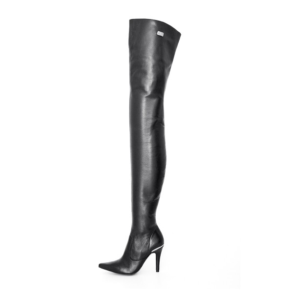 Super long high heel boots crotch high made-to-measure (Model 106)