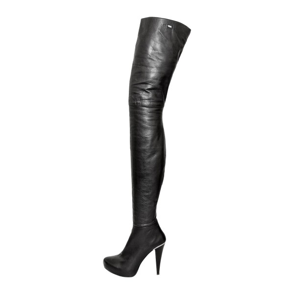 High heel boots crotch high platform made-to-measure (Model 318)