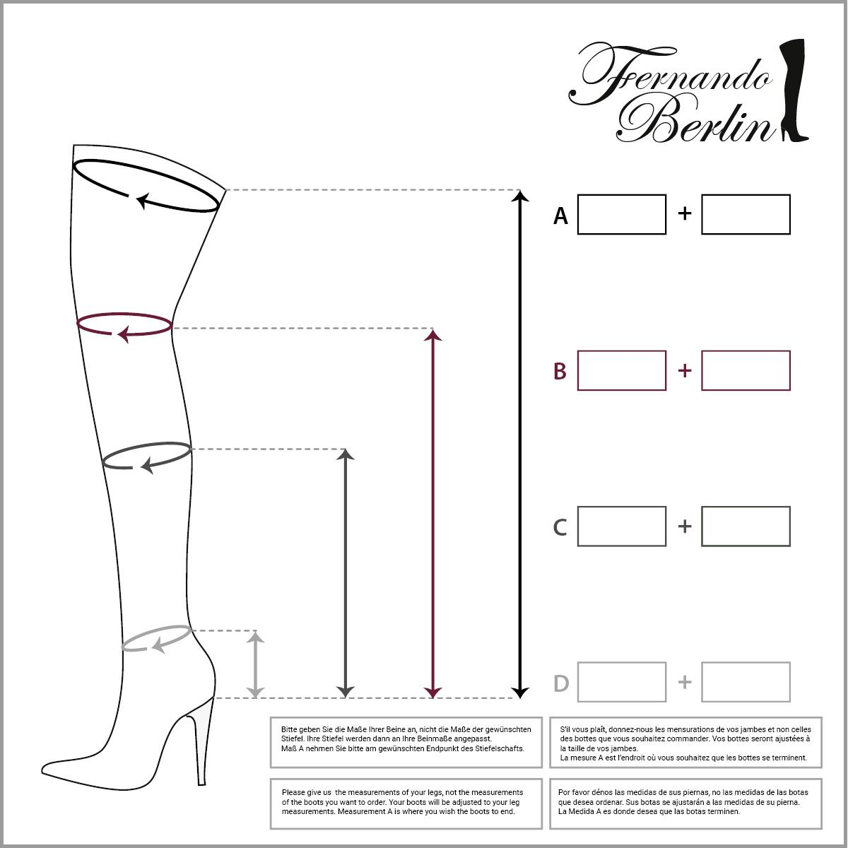 Measurements thighhigh